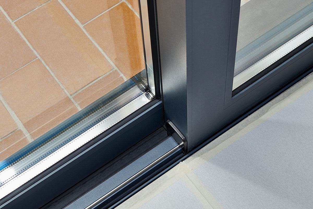 Powder-coated Aluminium Door